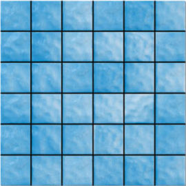 Scratchproof Ceramic Mosaic Tile For Community Landscape Easy To Clean
